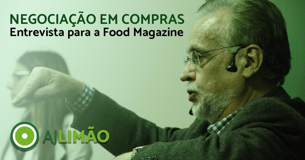 Negociação em Compras (Entrevista para a Food Magazine)