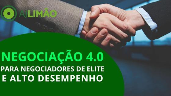 Negociação 4.0 para Negociadores de Elite e Alto Desempenho